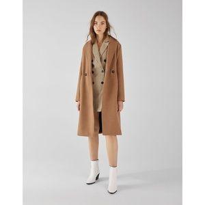 Bershka straight long coat